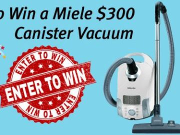Miele Premium Canister Vacuum Giveaway