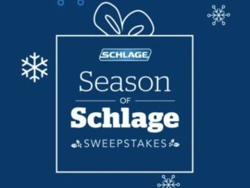 Schlage Visa Gift Card Sweepstakes