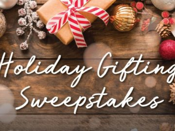 Designer Living Holiday Gifting Sweepstakes