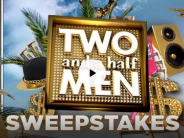 Two and a Half Men $5,000 Sweepstakes
