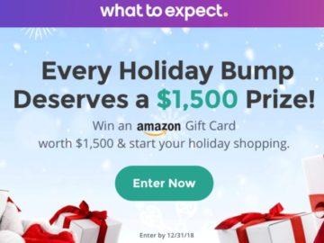 Win a $1,500 Amazon Gift Card!