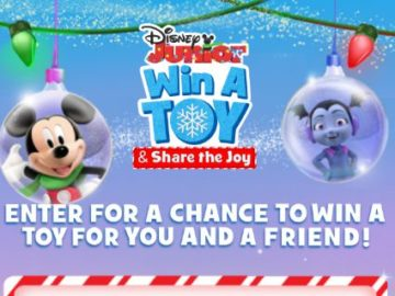 Disney Junior Win a Toy and Share the Joy Sweepstakes