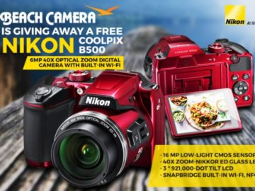 Beach Camera Nikon Coolpix Sweepstakes