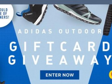 Adidas Gift Card Giveaway