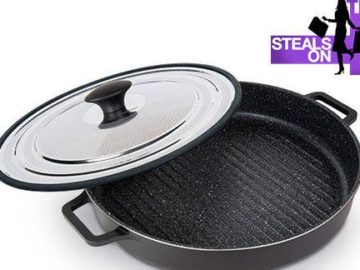 The Real Shop Steam Grill Giveaway