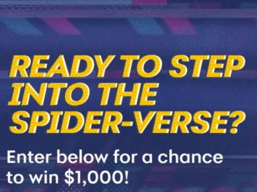 Synchrony Spider-Man $1,000 Holiday Sweepstakes