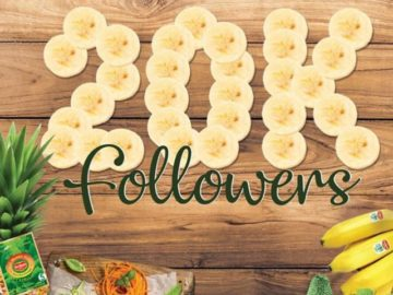 Del Monte Year's Supply of Bananas Giveaway