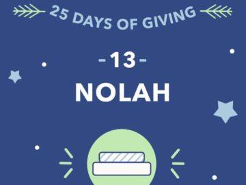 Sleepopolis 25 Days of Giving Nolah Mattress Giveaway