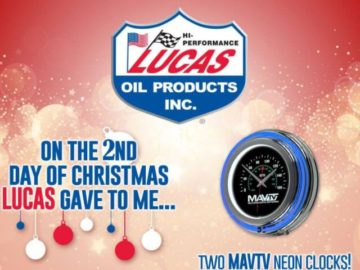 Lucas Oil 12 Days of Christmas Sweepstakes