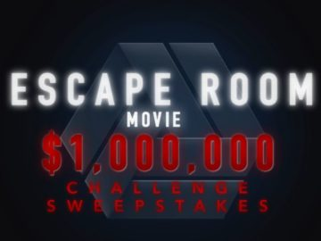 Escape Room Movie Million Dollar Challenge Sweepstakes