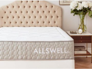 Allswell Luxe Classic Mattress Giveaway