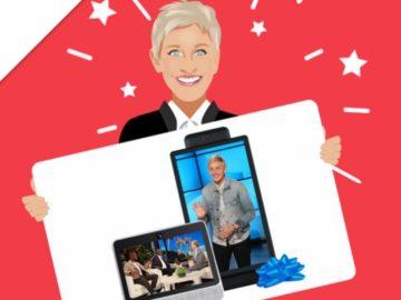 Ellen DeGeneres:  Win 2 Facebook Portals!