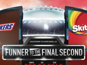 Snickers Skittles M&M's Super Bowl Sweepstakes and Instant Win Game