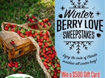 Winter Berry Love Sweesptakes