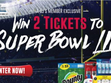 P&G Super Bowl Sweepstakes