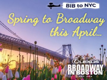 Broadway In Boston Escape to New York Sweepstakes