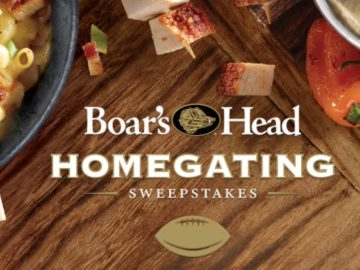 Boar's Head Homegating Sweepstakes