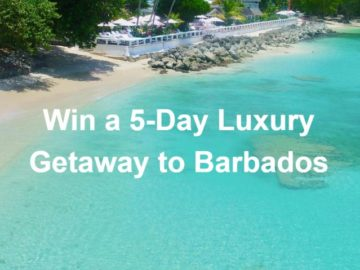 Luxury Getaway to Barbados Sweepstakes