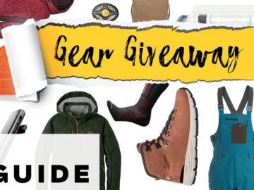 Outside Magazine Winter Buyer's Guide Giveaway Sweepstakes