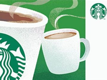 60 Days of Starbucks Giveaway