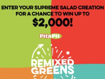 Litehouse Foods Pita Pit $2,000 Sweepstakes