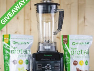 NutraLeaf Blender Sweepstakes