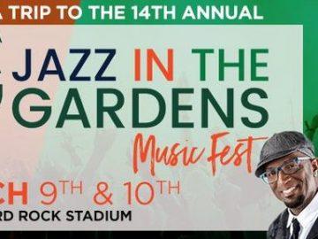 Miami Jazz In The Gardens Rickey Smiley Sweepstakes