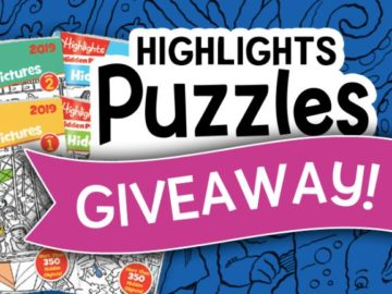 Highlights Puzzles Giveaway