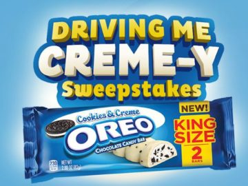OREO $500 Amex Gift Card Sweepstakes (Instagram)