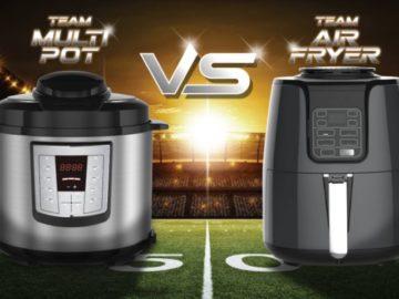 Martin's Multi Pot vs. Air Fryer Sweepstakes