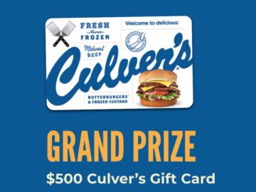 Culvers's Butterburger Daydreams Sweepstakes (Limited States)