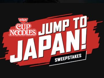 Cup Noodles Jump To Japan Sweepstakes