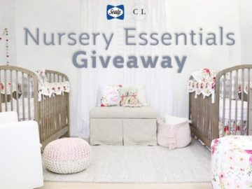 Sealy Baby and Caden Lane Giveaway