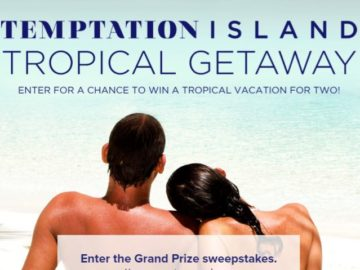 Temptation Island Tropical Getaway Sweepstakes