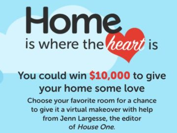 Home is Where the Heart is Sweepstakes