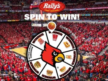 Louisville Rally's Spin to Win Sweepstakes