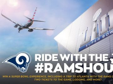 Los Angeles Ride with the Rams Sweepstakes