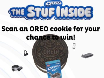 Oreo Instant Win Game and Sweepstakes
