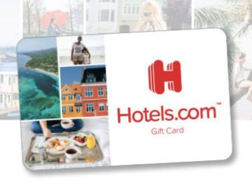 Hotels.com Tax Write-Off Sweepstakes
