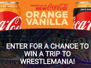 WWE and Orange Vanilla Coke Perfect Pairings Sweepstakes