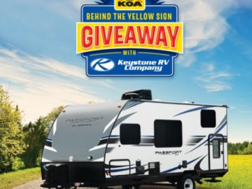 2019 Keystone Behind The Sign Giveaway