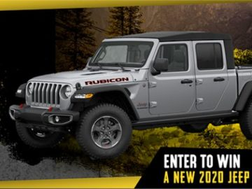 Great Jeep Gladiator Giveaway