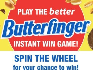 Butterfinger Circle K Instant Win Game