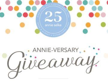 Annie Selke 25th Annie-versary Giveaway