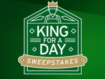 King-for-a-Day Gift Card Sweepstakes