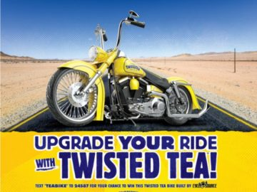 Twisted Tea Upgrade Your Ride Sweepstakes