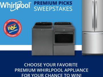 RAC Whirlpool Premium Picks Sweepstakes
