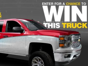 Sea Foam Chevrolet Truck Tech Sweepstakes