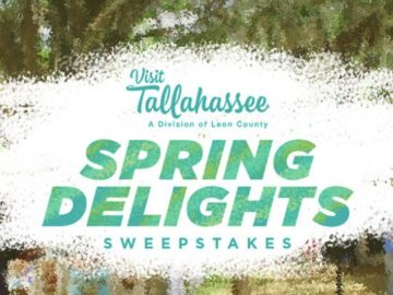 Visit Tallahassee 2019 Spring Delights Sweepstakes