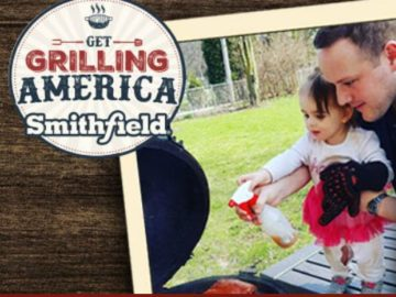 Smithfield Grilling Hero and Instant Win Game